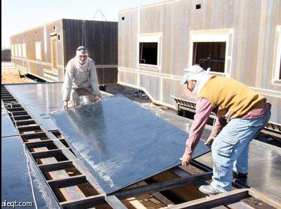 قرية سعودية تسيطر على صناعة الكرفانات في الخليج صحيفة الاقتصادية