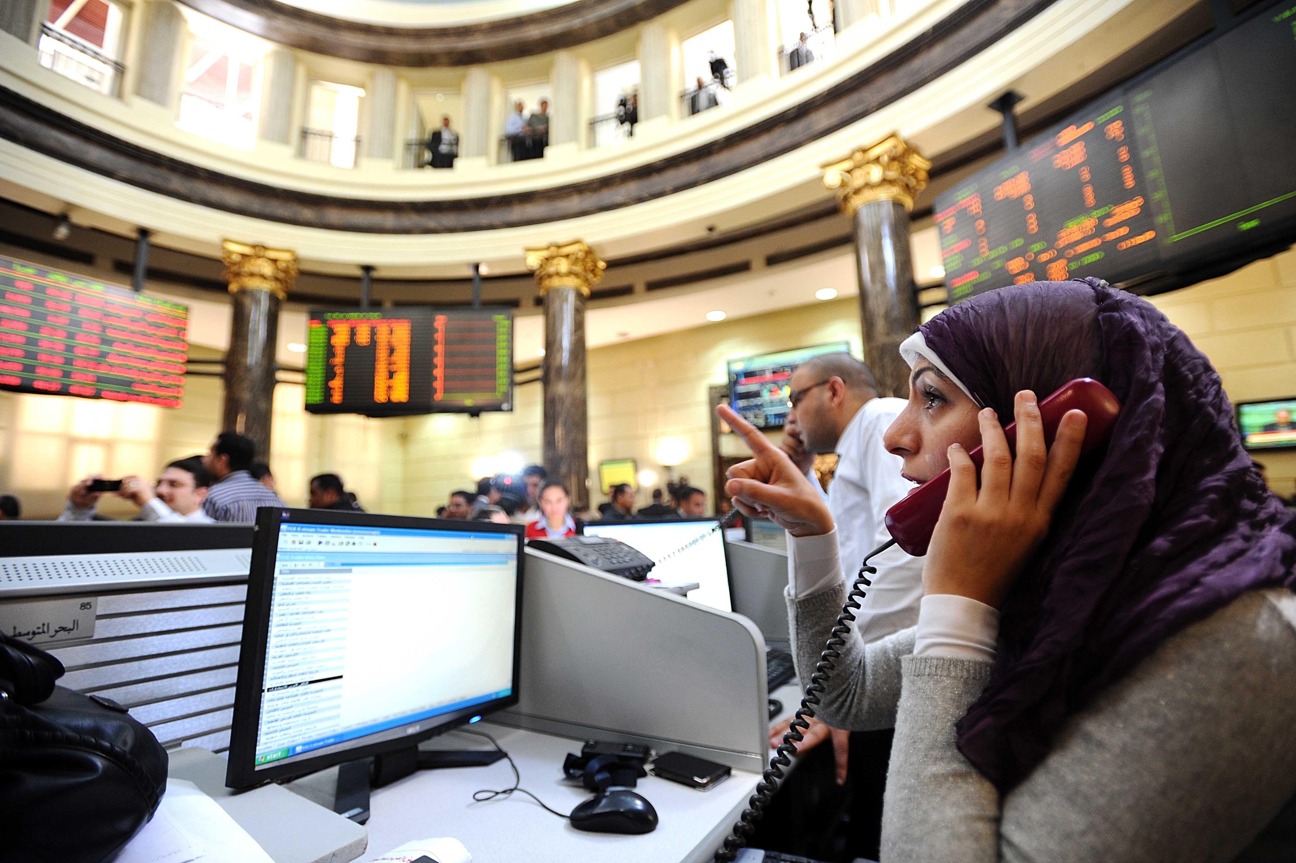 البورصة المصرية تربح 14.9  مليار جنيه خلال تعاملات الأسبوع الماضي