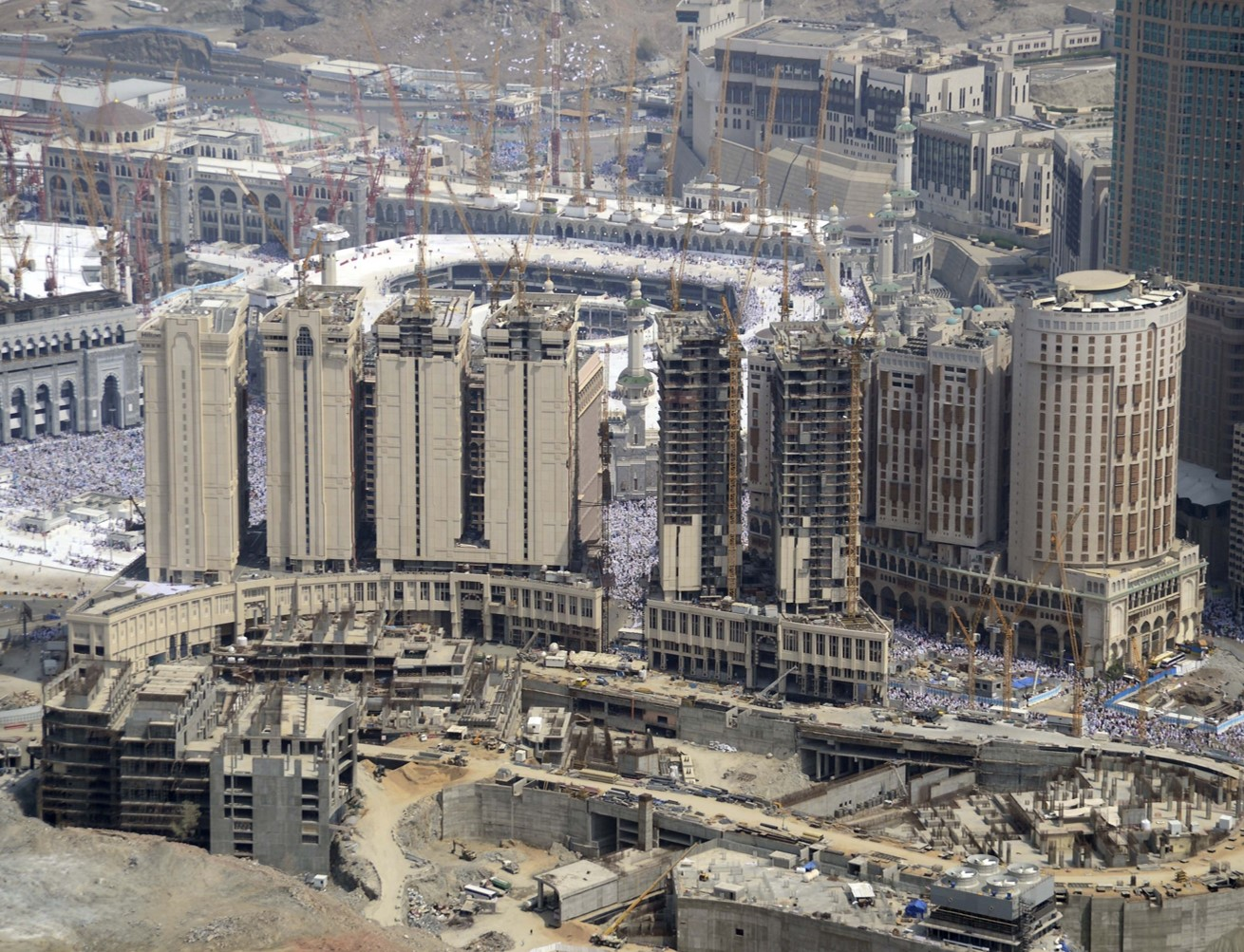 جبل عمر تحصل على موافقة لزيادة المسطحات البنائية الاستثمارية لمشروعها في مكة صحيفة الاقتصادية