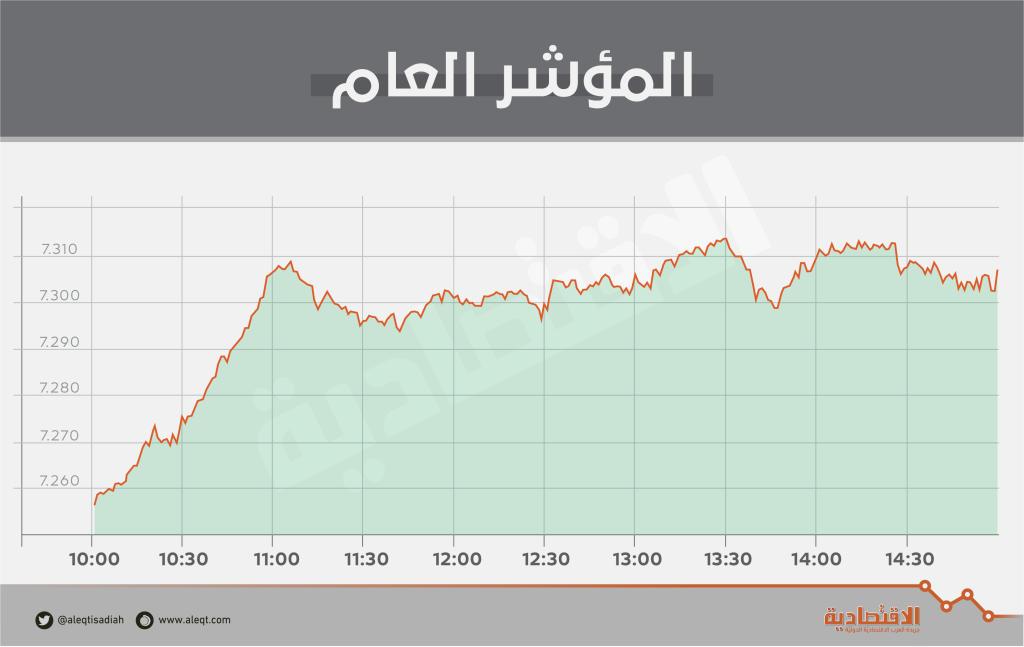 الأسهم السعودية تعود لاختراق حاجز 7300 رغم ضعف نمو السيولة   صحيفة الاقتصادية