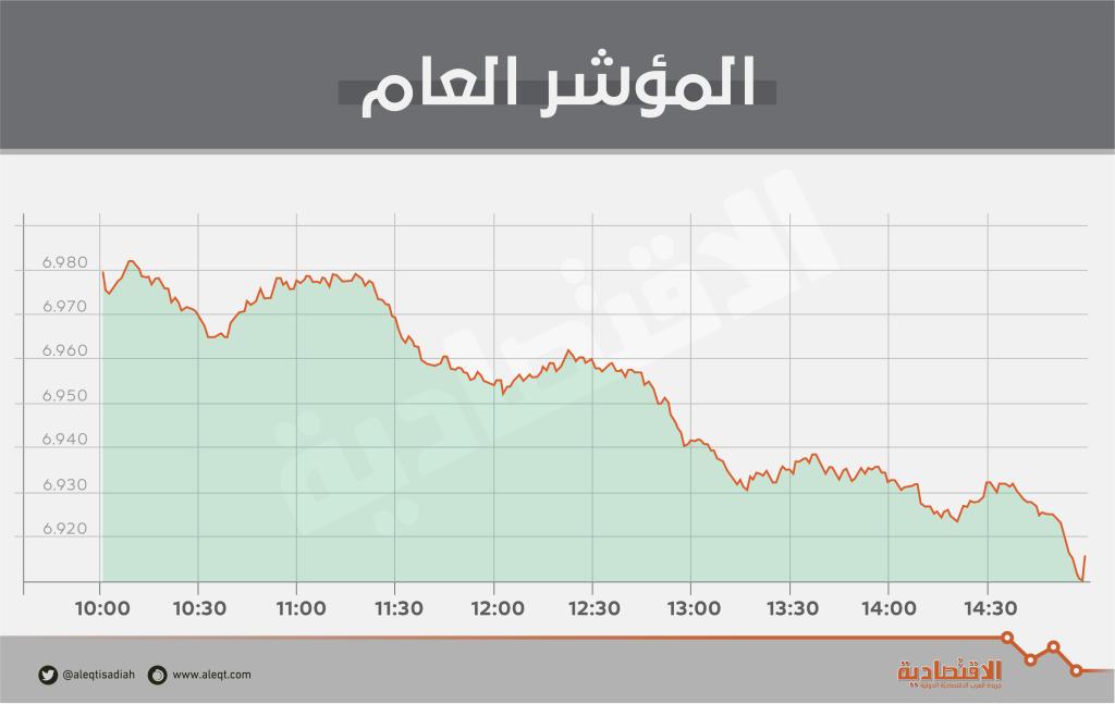 بضغط من قطاع إدارة وتطوير العقارات .. الأسهم السعودية تفقد 66 نقطة   صحيفة الاقتصادية