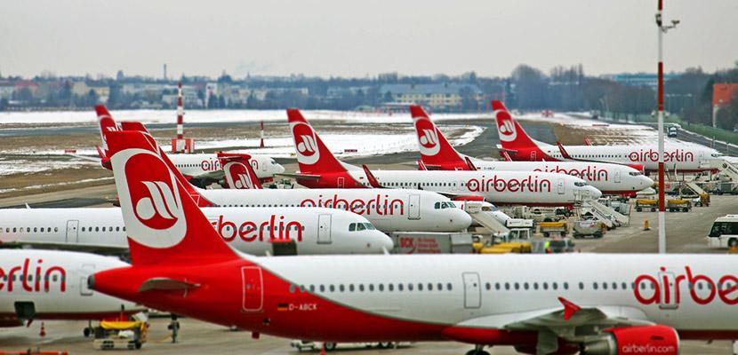 انهيار  إير برلين  يؤدي إلى ارتفاع الأسعار للرحلات المحلية في ألمانيا   صحيفة الاقتصادية