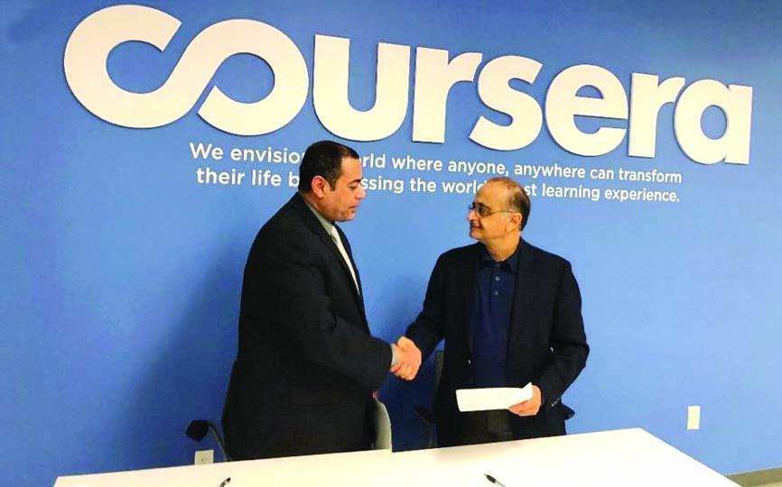 «الأمن السيبراني» و«كورسيرا» .. شراكة استراتيجية لتقديم البرامج الأكاديمية   صحيفة الاقتصادية