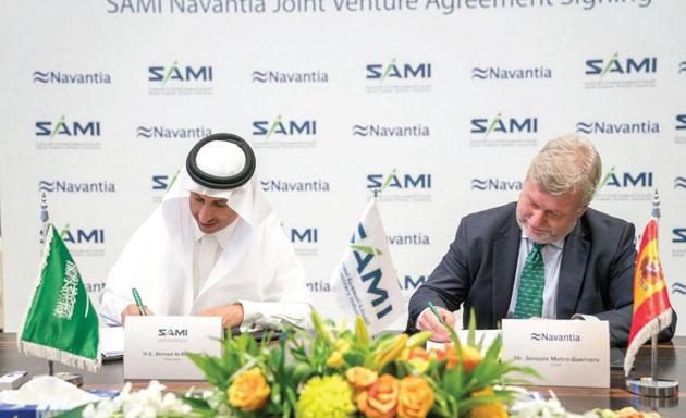 «السعودية للصناعات العسكرية» و«نافانتيا» الإسبانية تطلقان مشروعا للصناعات البحرية
