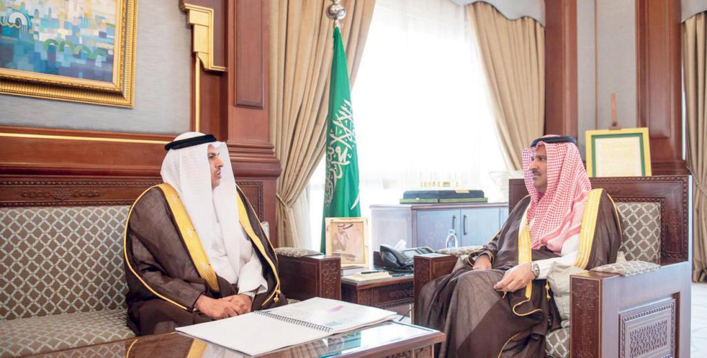 أمير المدينة المنورة يستقبل مدير فرع «العمل» في المنطقة   صحيفة الاقتصادية