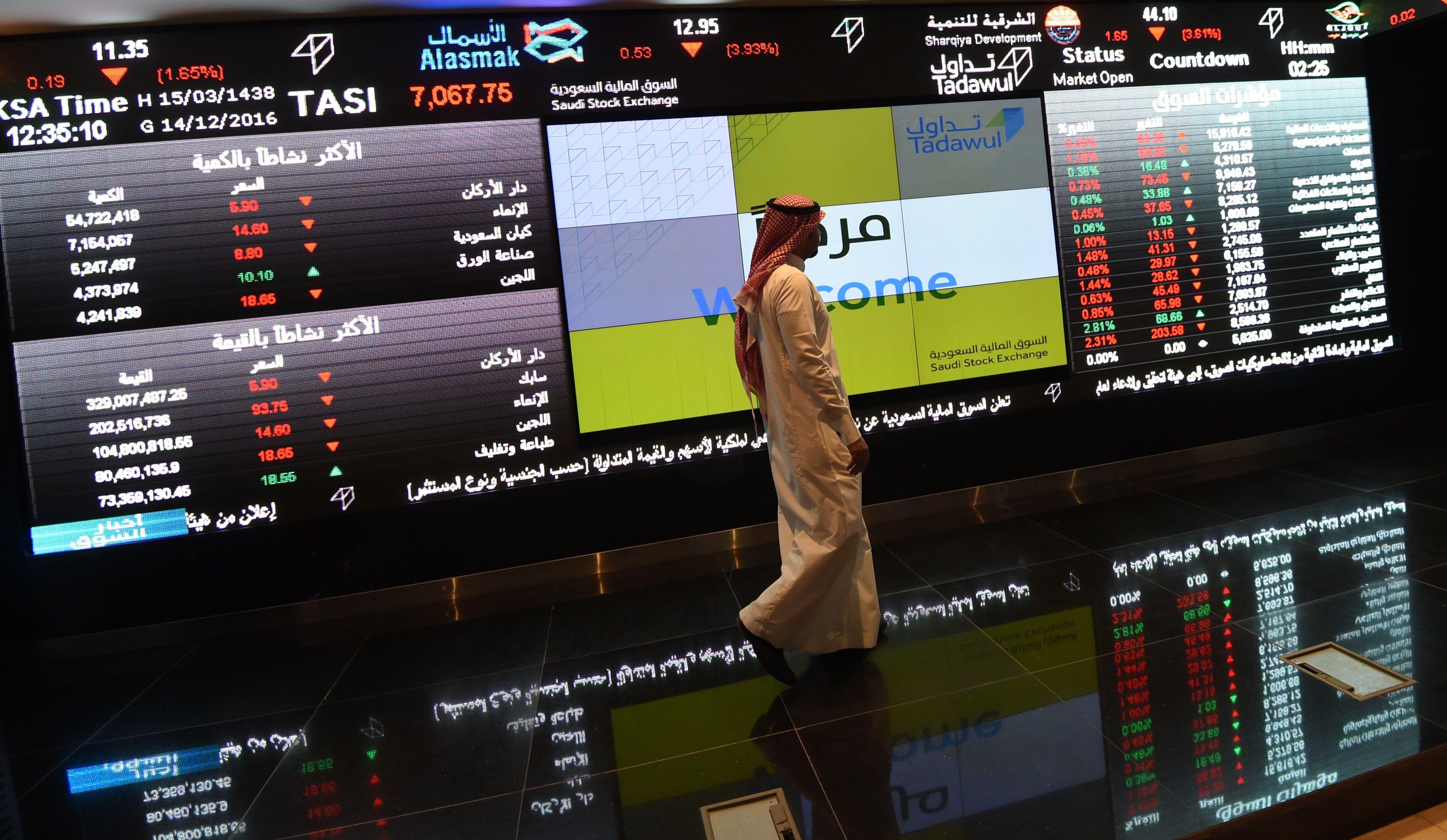 86.6 مليار ريال ملكية  الأجانب المؤهلين  في سوق الأسهم السعودية .. شكلت 4.11 %   صحيفة الاقتصادية