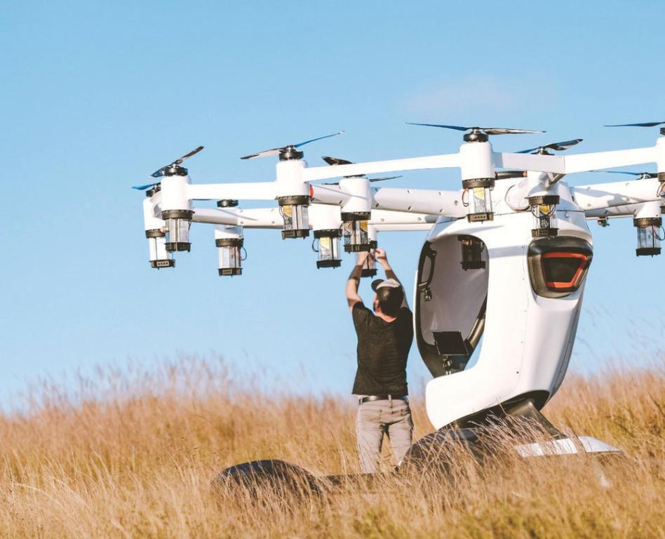 الطائرات الشخصية الكهربائية «هيكسا» .. ثورة في عالم النقل الجوي