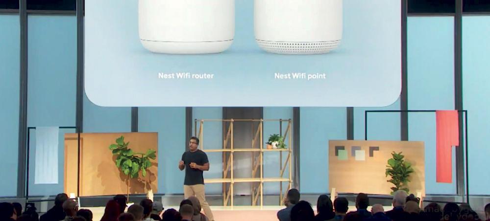 بعد «لينكسيس» و«هواوي» .. «جوجل» تكشف عن راوتر Nest Wifi وعديد من الأجهزة المنافسة   صحيفة الاقتصادية