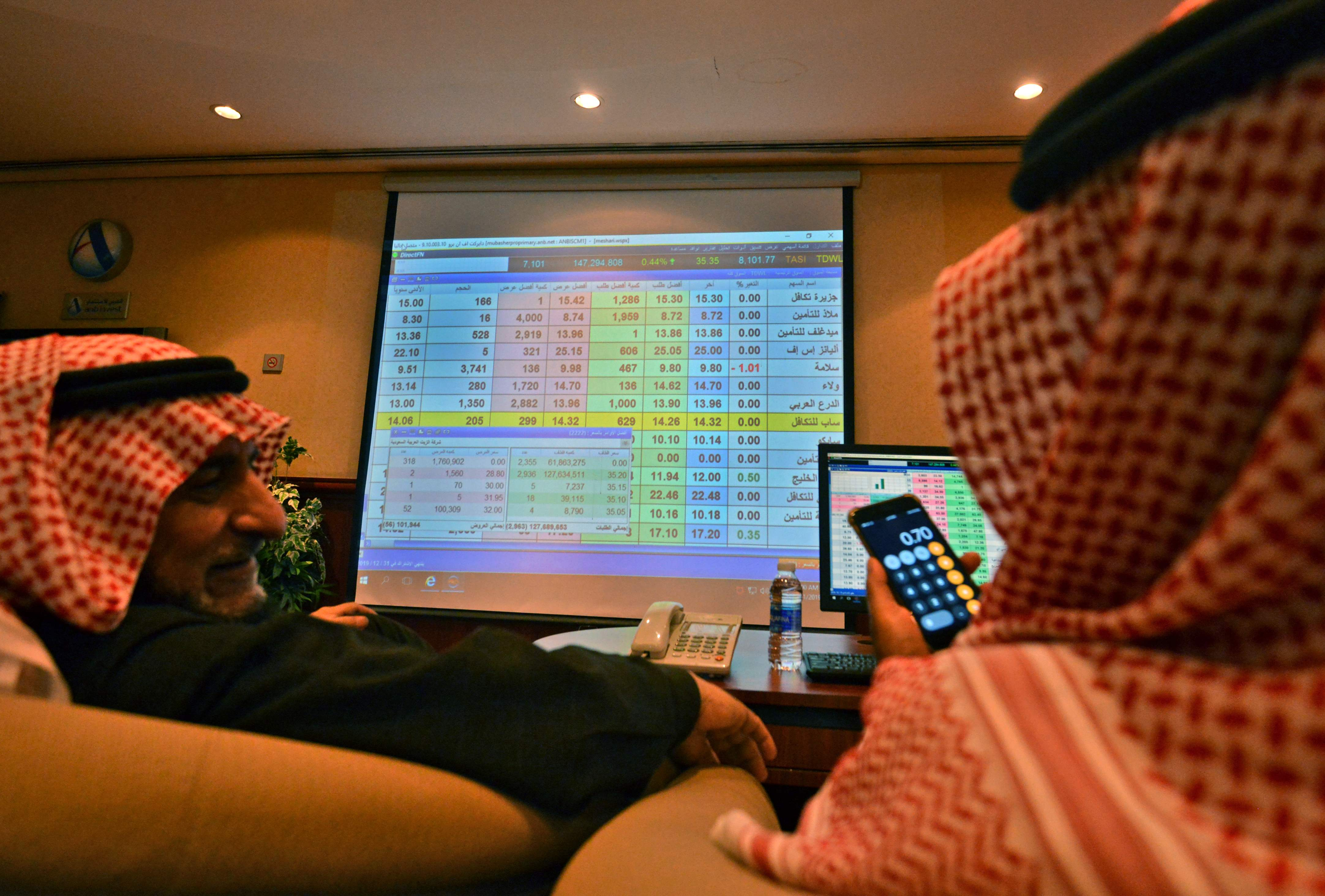 الأسهم السعودية تبدأ التعاملات تراجع 1293481-2137446150.j