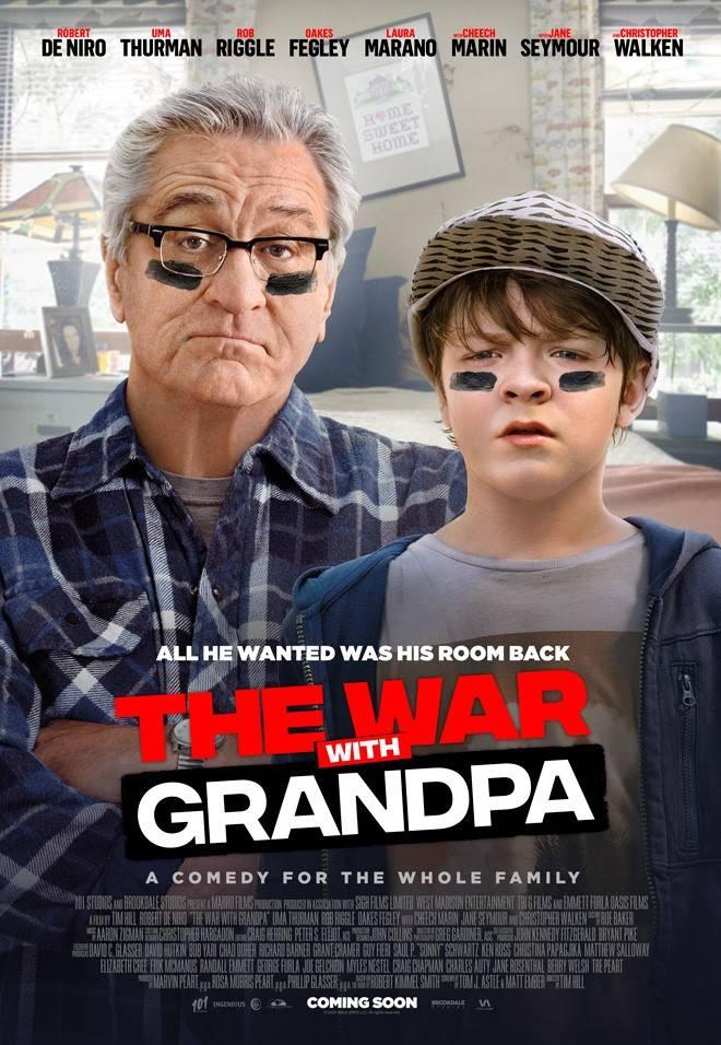 الحرب مع جدي فيلم يدمج خبرة الكبار ببراءة الصغار صحيفة الاقتصادية