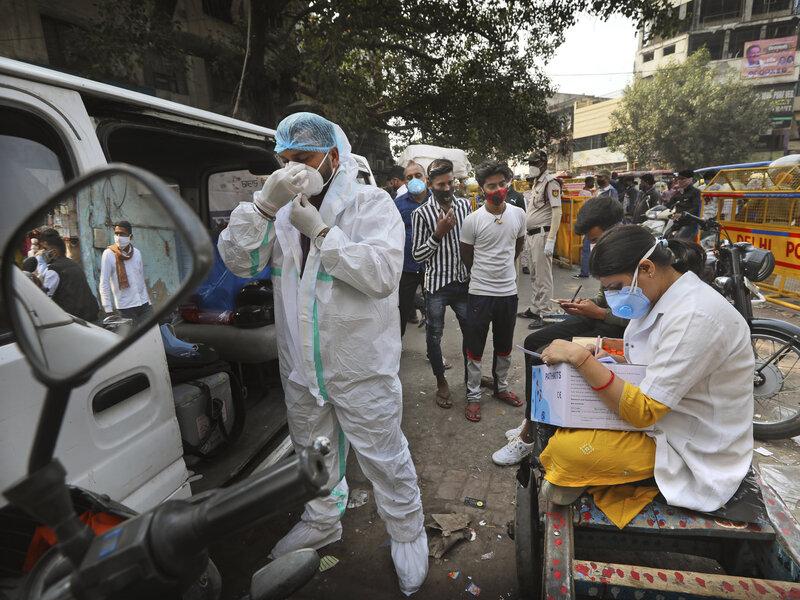 """الهند تسجل أكثر من 400 ألف إصابة جديدة بـ """"كورونا"""" خلال 24 ساعة"""
