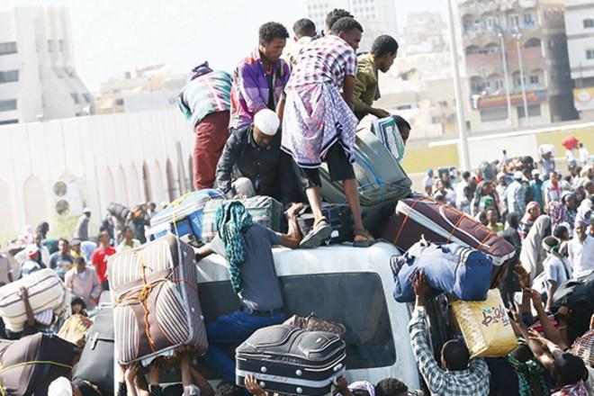 اليمنيون أكثر المضبوطين عند الحدود.. و10 % من المتسللين إثيوبيون
