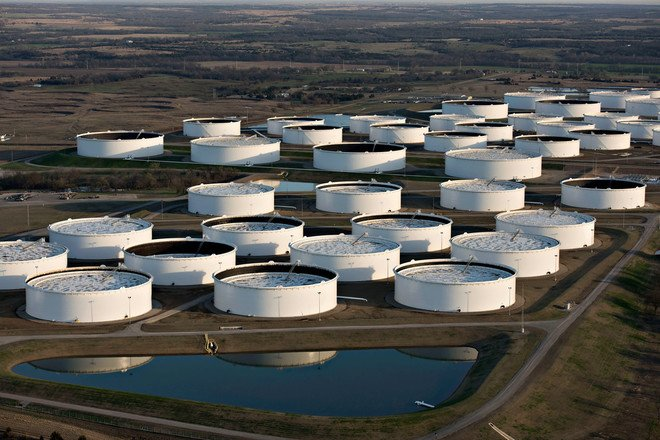 مخزونات النفط الأمريكية تقفز خلال الأسبوع الماضي