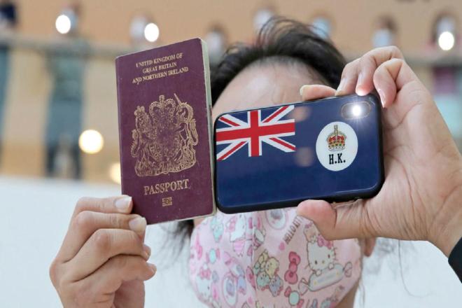بريطانيا تعرض على ملايين من مواطني هونغ كونغ تاشيرة طويلة الأمد