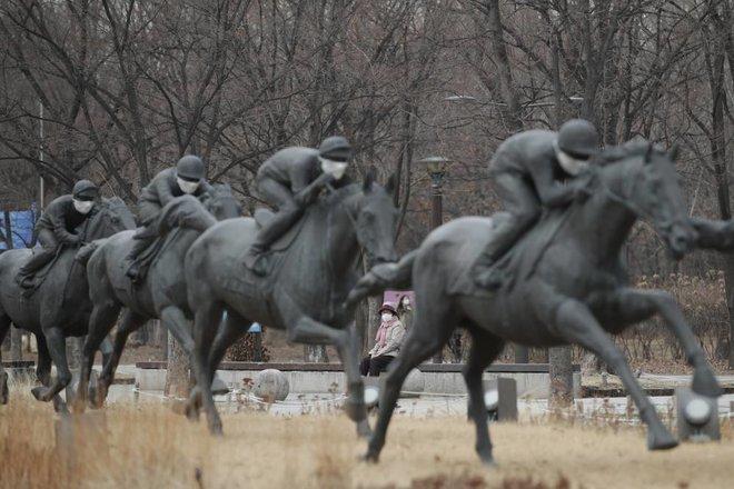 منحوتات الأحصنة