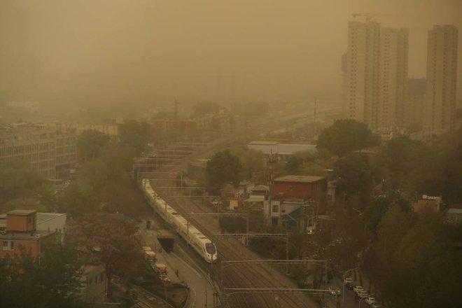 عاصفة بكين