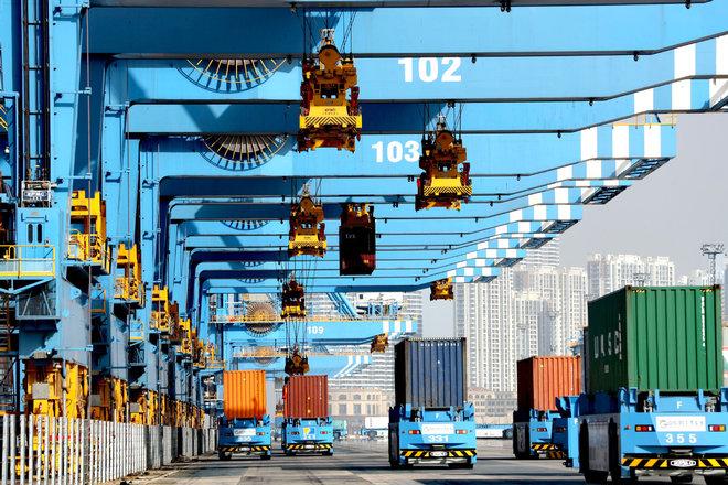نمو التجارة الخارجية للصين بأكثر من 30% خلال يونيو الماضي