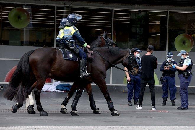 شرطة أستراليا تمنع احتجاجا مناهضا لقيود كورونا مع ارتفاع الإصابات