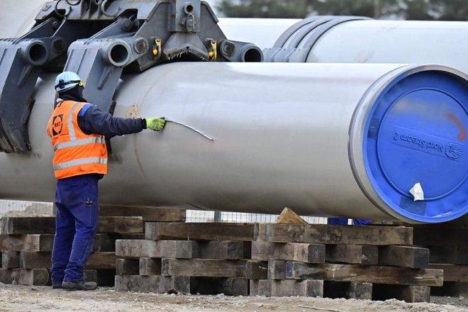 """""""جازبروم"""": بناء خط الأنابيب """"نورد ستريم 2"""" أنجز بالكامل"""