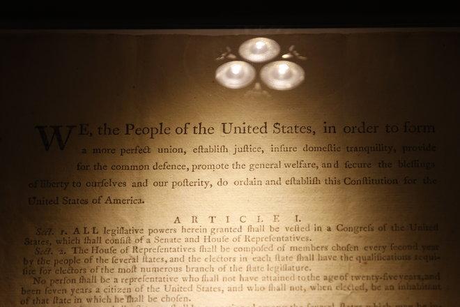 نسخة أصلية من الدستور الأمريكي تطرح في مزاد بقيمة مقدرة بين 15 و20 مليون دولار