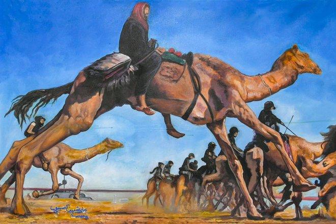 مهرجان الهجن يمزج بين الفن والتراث