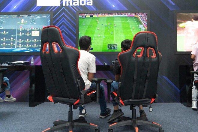 تفاعل كبير من المغامرين والشغوفين في أولى أيام «رش» للألعاب الإلكترونية