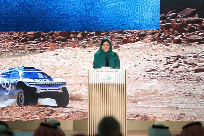 الأميرة ريما بنت بندر: البيئة وحمايتها رسالة يمكن أن تسهم الرياضة في إيصالها بطرق فريدة ونوعية