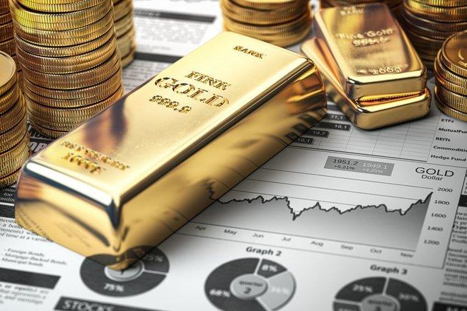 الذهب يهبط مع تقلص جاذبيته بفعل ارتفاع العوائد الأمريكية والدولار