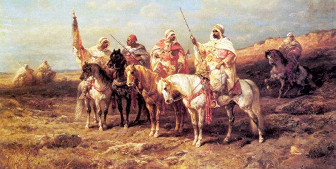 النخوة والاعتزاء عند العرب