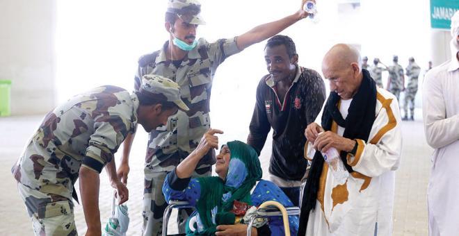 «التقنية» تعالج 559 بلاغا في مخيمات حجاج إفريقيا غير العربية