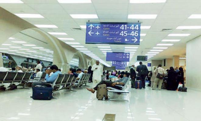 4 آلاف رحلة جوية تنقل حجاج بيت الله الحرام  إلى بلدانهم