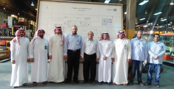 مهندسو وزارة الصحة يزورون مصانع الخزف السعودي صحيفة الاقتصادية