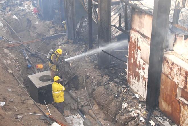 السيطرة على حريق تلفزيون مكة المكرمة .. ولجنة للتحقيق وحصر الخسائر