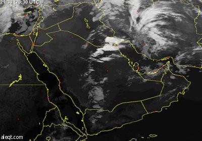 توقعات بهطول أمطار رعدية في ساعات المقبلة على الرياض ومكة المكرمة