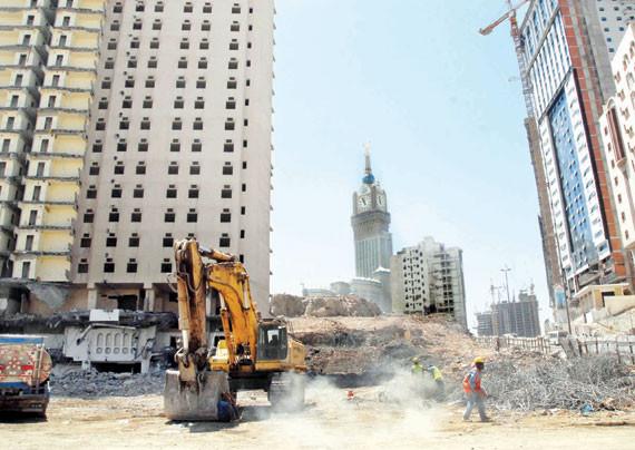 تعويضات عقارية معطلة في مكة بـ 5 مليارات