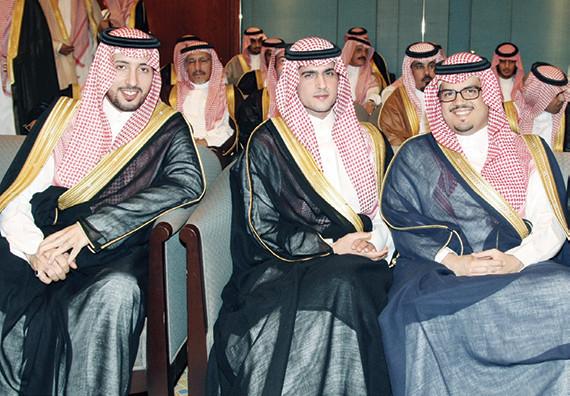 ولي العهد يحتفل بزواج نجله الأمير سعود