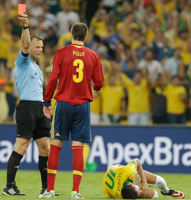 """البرازيل تنهي حقبة """"الأسبان"""" وتتوج بلقب القارات"""