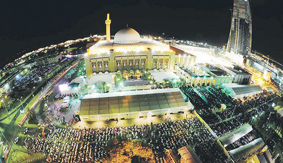 المسجد الكبير في الكويت .. إطلالة أندلسية على الخليج العربي