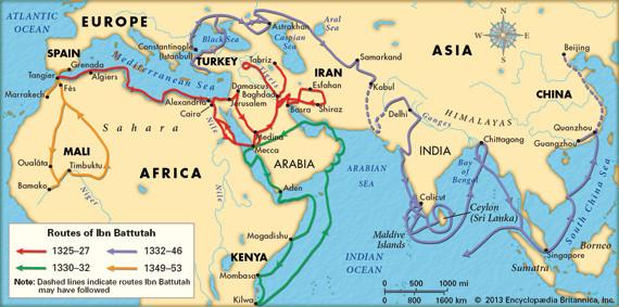 رحلات «ابن بطوطة» .. حقائق للتاريخ أم قصص عجائبية للتسلية؟