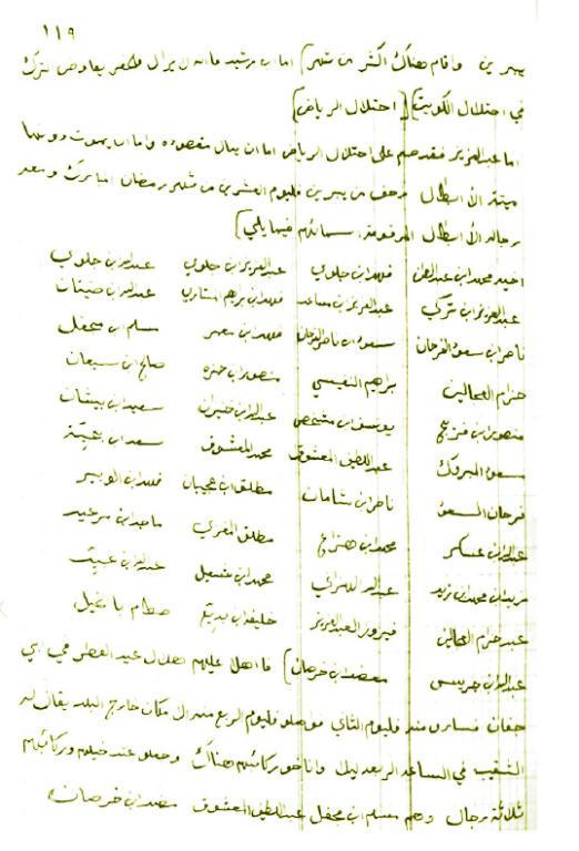 مخطوطة «ثبت الحوادث».. صفحات من تاريخ نجد لابن هذلول