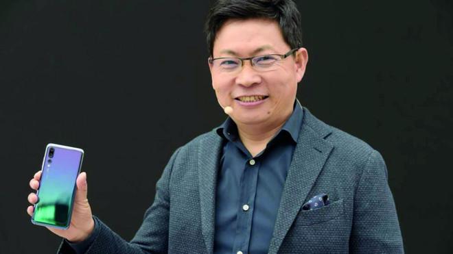 رئيس «هواوي» : نسعى إلى المركز الأول في الحصة السوقية بحلول 2020