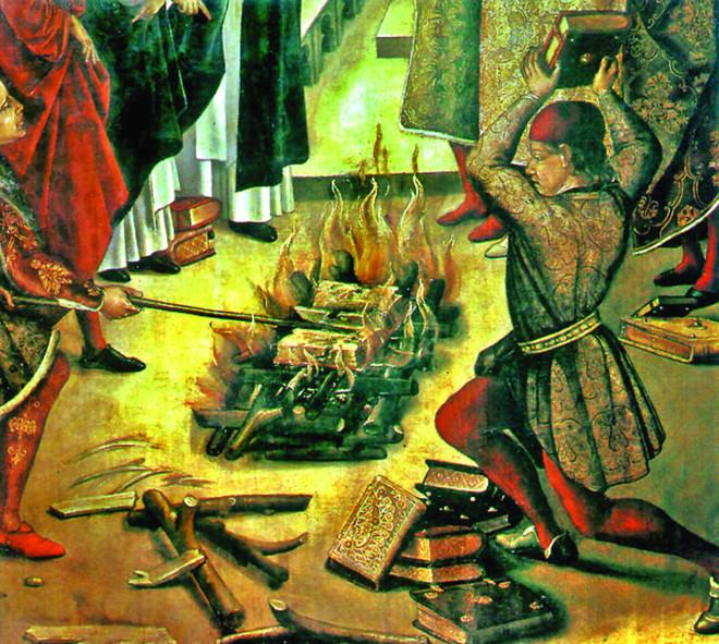 حرق الكتب والمكتبات .. تواريخ في تدمير المعرفة