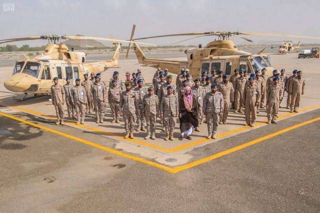رئيس هيئة الأركان العامة يتفقد وحدات القوات المسلحة المشاركة في مهمة الحج
