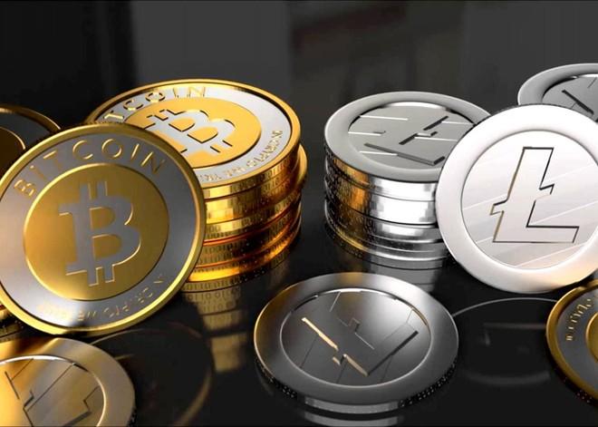 """تراجع سعر """" بيتكوين """" وارتفاع """" لايتكوين"""" و""""ريبل"""" واستقرار """" إثريوم """" مقابل الدولار"""