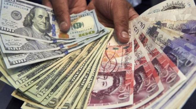 الاسترليني يسجل أعلى مستوى أمام الدولار في أربعة أشهر