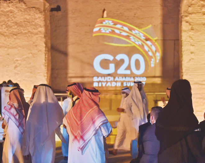 فعاليات «العشرين»