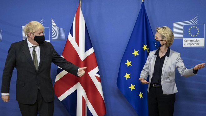 رئيس وزراء بريطانيا: إتفاقية التجارة بداية جديدة للعلاقة مع الاتحاد الأوروبي