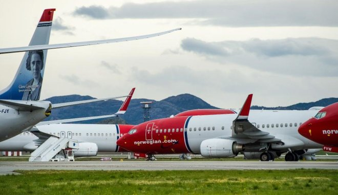 """بعد أن أٌثقلت بالديون .. النرويج تدرس دعم طيران """"نرويجيان اير"""" منخفض التكلفة"""
