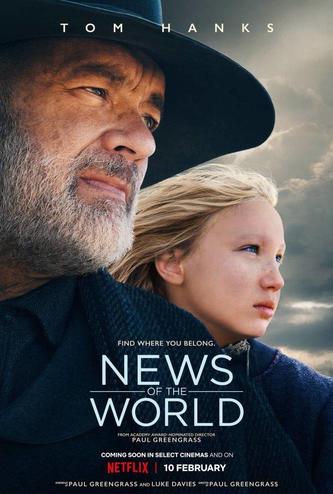 توم هانكس يدخل «الويسترن» في فيلم «أخبار العالم»