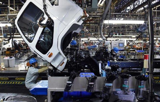 ارتفاع الإنتاج الصناعي الياباني للمرة الأولى خلال 3 أشهر